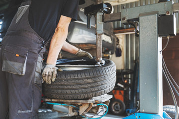 car tire change and repair service