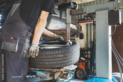 mata magnetyczna car tire change and repair service