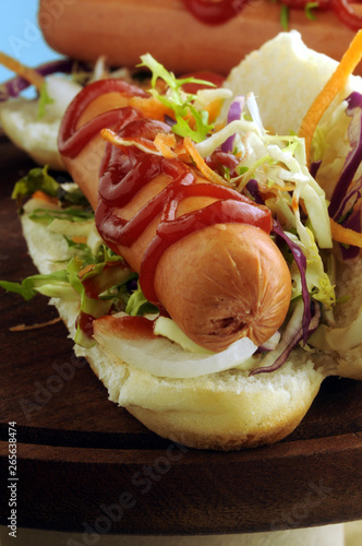 Hot dog ft31_5085 Frankfurt Hot-dog Χοτ ντογκ Hotdog 熱狗 हॉट डॉग