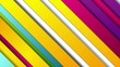 Colorful smooth modern stripes abstract motion design. Seamless loop. Video animation Ultra HD 4K 3840x2160