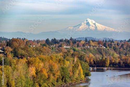 Photographie Mt. Hood and Portland, Oregon