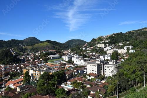 Petrópolis e Rio de Janeiro Canvas Print
