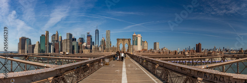 Foto auf Gartenposter Brooklyn Bridge Brooklyn Bridge V