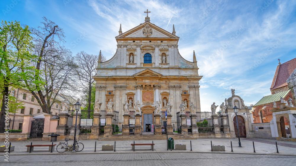 Fototapety, obrazy: Kościół św. Piotra i Pawła, miasto Kraków, Polska