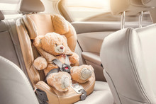 Baby Child Seat Car. A Beige T...