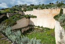 An Old Quarry, Monteleone Rocca Doria, Sardinia, Italy, Europe