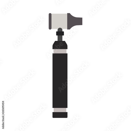 Medical otoscope tool vector icon ent ear Wallpaper Mural