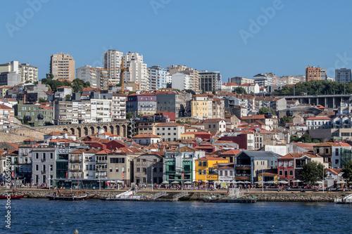 Poster Ville sur l eau Porto, Portugal