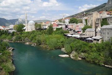 Fototapeta na wymiar Colori di Mostar