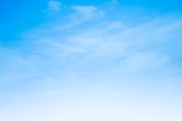 beautiful Skyscape clouds background with blue and orange summer holiday