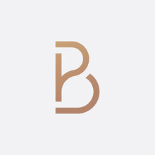 Luxury PB Logo - Vector Logo T...