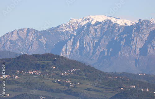 Fotografie, Obraz  range mountains called PASUBIO MOUNT in Northern Italy