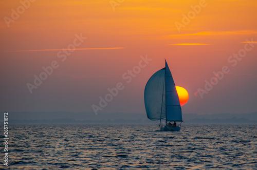 Sonnenuntergang Fototapeta