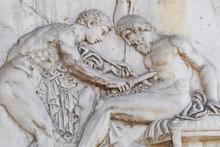 Roman Ancient Surgeon On The Battlefield