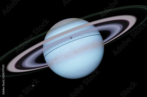 Alena - Exoplanet Canvas Print