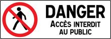 No Pedestrian Access Industria...