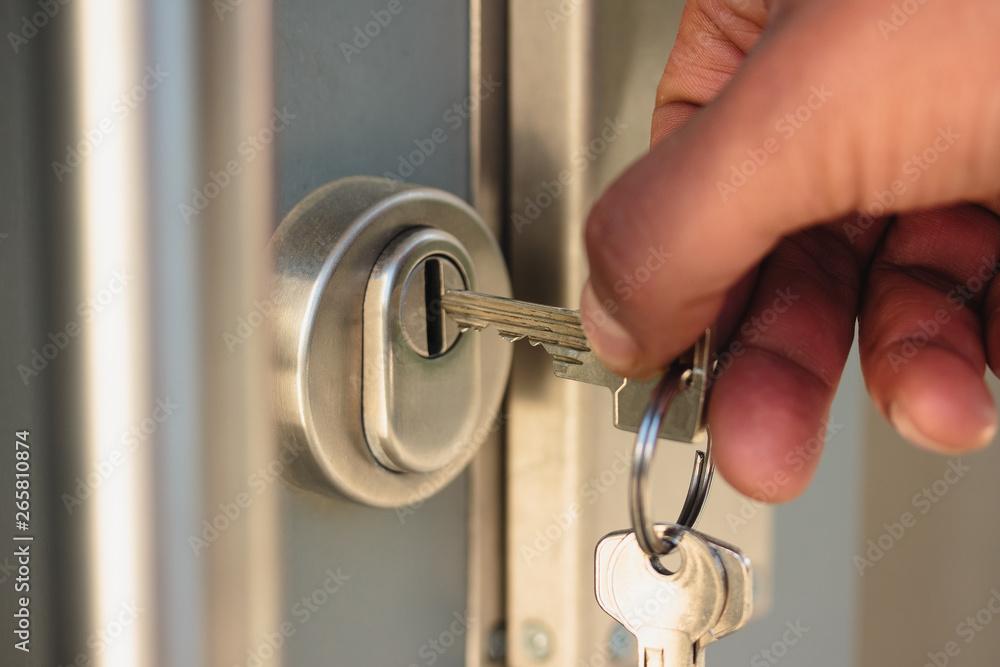 Fototapeta Schlüssel, Schlüsseldienst, Sicherheit