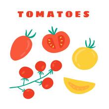 Cherry Tomatoes, Plum Tomatoes...