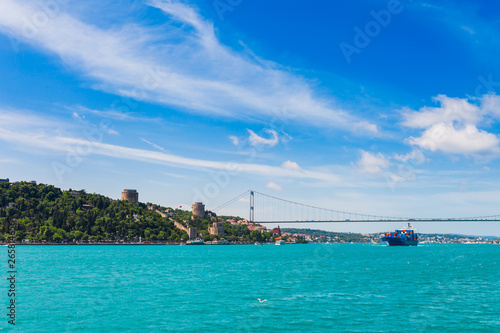 Obraz na plátně Panoramic view of Istanbul