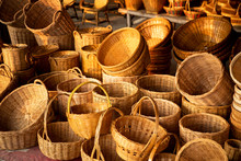 Bamboo Basket Hand Craft In Th...