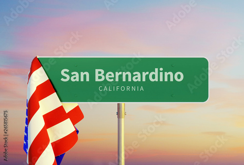 San Bernardino – California Canvas Print