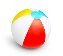 Summer Beach Plastic Ball Isol...