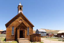 Old Church In Bodie Ghost Tow...