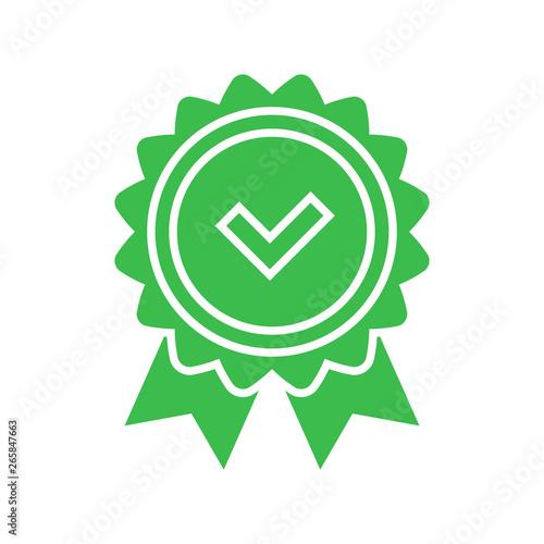 Fotografía  Approval check icon