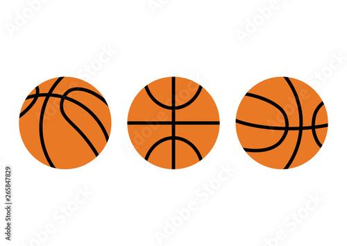 Papel de parede basketball set icon