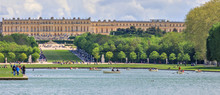 """Versailles, The Palace And The """"Grand Canal"""""""