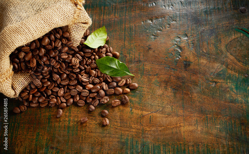 Photo  Speciality blend of fresh roasted coffee beans
