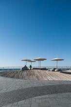 Israel, Tel Aviv, Promenade - ...