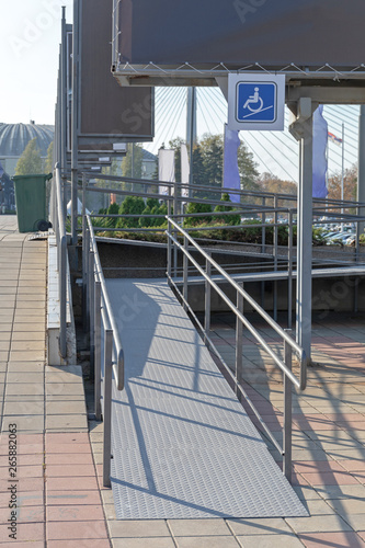 Disabled Ramp Canvas