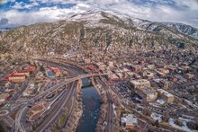 Glenwood Springs Is A Community In The Mountains Of Colorado Where Two Rivers Meet