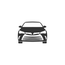 Car Icon In Simple Design. Vector Illustration