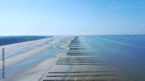 Fotografia  baie de Somme, d'Authie et parc du Marquenterre