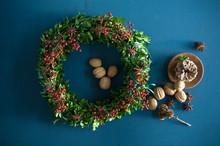 Self-made Advent Wreath, Box T...