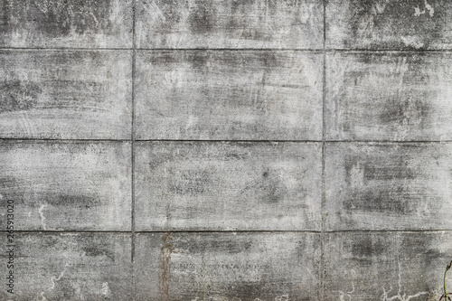 Valokuva  Abstract background, grey cement wall