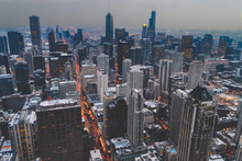 High Above Chicago