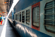 Railway Station, Old Train In India