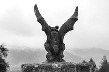 Gargoyle In A Fog
