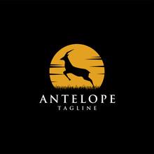Jumping Antelope At The Moon L...