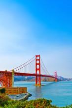View Of Golden Gate Bridge In ...
