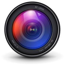 Camera Photo Lens 3D Realistic...