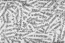 Newspaper Paper Strips Background