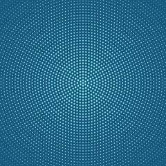 Geometric  halftone circular dot pattern background design