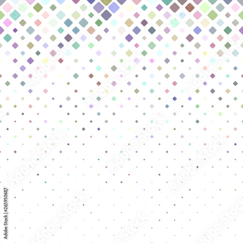 Cuadros en Lienzo  Geometrical rounded square pattern background - vector design from squares