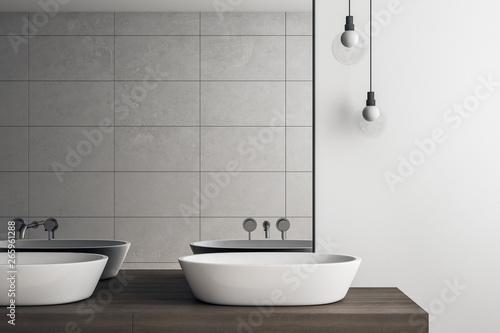 Cadres-photo bureau Pays d Europe Light bathroom interior