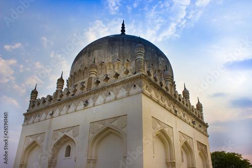 Photo  Hyderabad, Telangana, India- Friday, 30 April 2019- The Qutb Shahi Tombs are located in Hyderabad - India