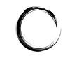 Grunge circle.Grunge black oval frame.Black paint frame.Grunge ink circle.